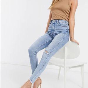 Stradivarius super high waist premium jeans